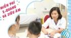 BV Việt Đức khám miễn phí trẻ em nhằm phát hiện sớm các bệnh lý thường gặp