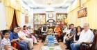 Tổng Lãnh sự Ấn Độ thăm chùa Phổ Minh