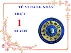 Xem tử vi ngày 1/4/2020 thứ 4 của 12 cung hoàng đạo chi tiết nhất