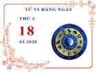 Xem tử vi ngày 18/3/2020 thứ 4 của 12 cung hoàng đạo chi tiết nhất