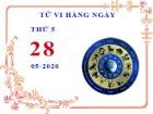 Xem tử vi ngày 28/5/2020 thứ 5 của 12 cung hoàng đạo chi tiết nhất