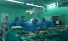 Xuyên đêm ghép 2 lá gan cho một bệnh nhân xơ gan nặng được hiến từ một người chết não