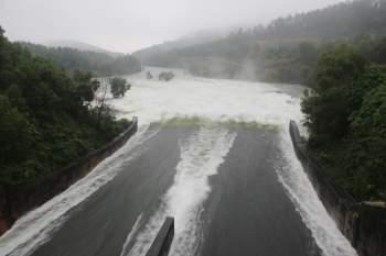 Quảng Nam mưa lớn, nhiều hồ chứa xả điều tiết - 1