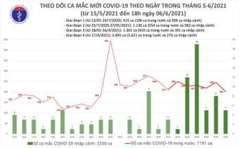 65 ca nhiễm Covid-19 mới, 58 ca khỏi bệnh -0