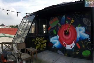 Chùm tác phẩm nghệ thuật Graffiti độc đáo với chủ đề Chung tay đánh bay COVID-19 - Ảnh 5.