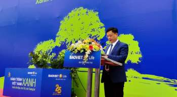 Khởi động chiến dịch trồng 1 tỉ cây xanh cho Việt Nam - ảnh 1