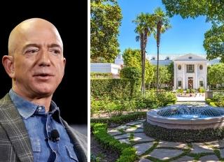 """Hé lộ căn biệt thự 165 triệu USD của tỷ phú Jeff Bezos: Rộng hơn 3 hecta, kín cổng cao tường và có cả """"nhà phụ"""" 10 triệu USD sát cạnh bên - Ảnh 1."""