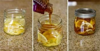 Cách làm chanh đào ngâm mật ong