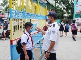 Cần duy trì các biện pháp phòng chống dịch bệnh trong trường học