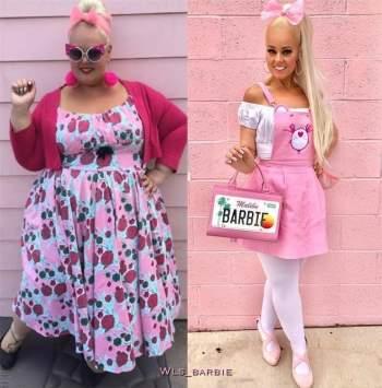 Cô gái 'lột xác' giảm 90kg trong 2 năm, giống hệt búp bê Barbie ngoài đời thực ảnh 2