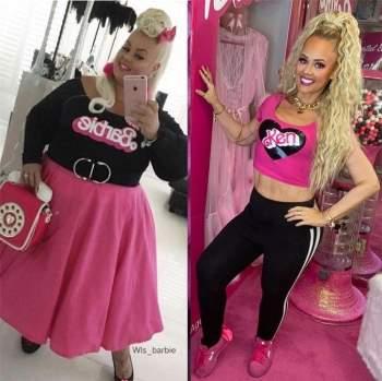 Cô gái 'lột xác' giảm 90kg trong 2 năm, giống hệt búp bê Barbie ngoài đời thực ảnh 4