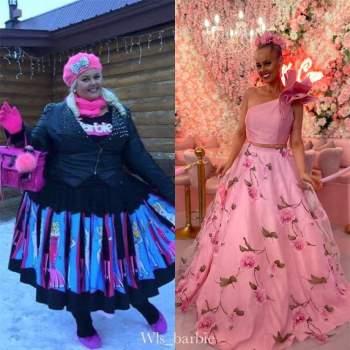 Cô gái 'lột xác' giảm 90kg trong 2 năm, giống hệt búp bê Barbie ngoài đời thực ảnh 5
