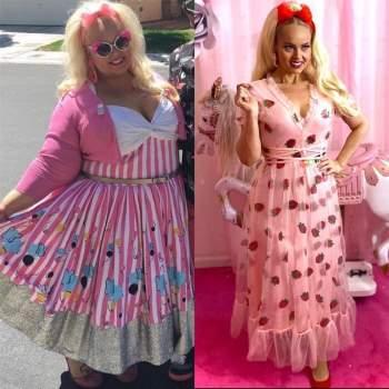 Cô gái 'lột xác' giảm 90kg trong 2 năm, giống hệt búp bê Barbie ngoài đời thực ảnh 6