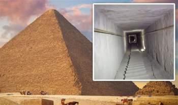 Đặt chân vào hành lang bí ẩn của Đại Kim tự tháp Giza - ảnh 1
