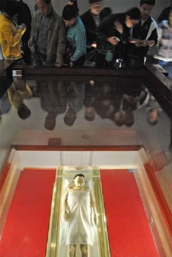 Xác ướp mỹ nhân còn nguyên vẹn sau 2000 năm tại Trung Quốc. Ảnh minh họa
