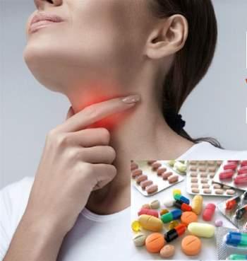 Không tự ý dùng thuốc kháng sinh trị viêm họng.