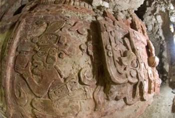 Phát hiện phù điêu cổ khủng của người Maya - 2