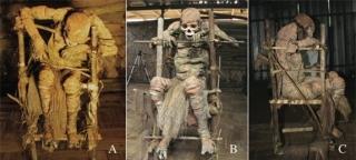 Xác ướp Moimango sau khi đã được đội nghiên cứu phục hồi
