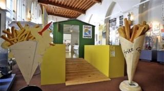Bảo tàng khoai tây chiên tại Bỉ thu hút nhiều khách du lịch đến tham quan
