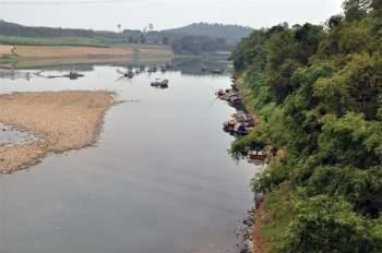 Tổng lượng nước 4,72 km3 ứng với lưu lượng trung bình năm 148 m3/s và môđun dòng chảy năm 18,2 l/s.km3. Ảnh: Che Trung Hieu.