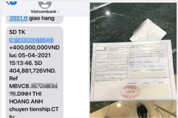 'Bão' like phục người shipper Sài Gòn tìm cách trả ngay 400 triệu cho khách chuyển nhầm - ảnh 1