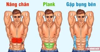 Bài tập 10 phút mỗi ngày cho cơ bụng 6 múi cuồn cuộn không cần đến phòng gym - Ảnh 1