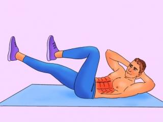 Bài tập 10 phút mỗi ngày cho cơ bụng 6 múi cuồn cuộn không cần đến phòng gym - Ảnh 10