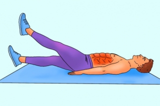 Bài tập 10 phút mỗi ngày cho cơ bụng 6 múi cuồn cuộn không cần đến phòng gym - Ảnh 11