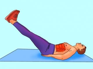 Bài tập 10 phút mỗi ngày cho cơ bụng 6 múi cuồn cuộn không cần đến phòng gym - Ảnh 5