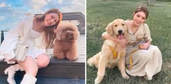 Nữ blogger rất yêu động vật. Cô thường đăng những hình ảnh vui đùa cùng thú cưng của gia đình hay thích thú chụp hình với những chú chó, mèo vô tình gặp trên đường. An An cũng được nhiều người khen ngợi khi luôn truyền nguồn năng lượng tích cực tới dân mạng.