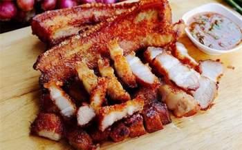 Bữa cơm chiều ngày lạnh càng thêm hấp dẫn với món thịt ba chỉ chiên giòn rụm - Ảnh 3