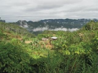 Ngôi làng Koke, Papua New Guinea, nơi tin rằng xác ướp hun khói sẽ giúp họ giao tiếp với thế giới linh hồn. Ảnh Live Science