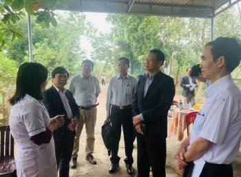 Đẩy mạnh tư vấn ATTP, giám sát công tác khắc phục hậu quả sau lũ tại Quảng Trị - 1
