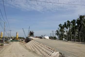 Cận cảnh 'siêu' công trình cống thủy lợi lớn nhất Việt Nam 3.300 tỉ đồng - ảnh 5