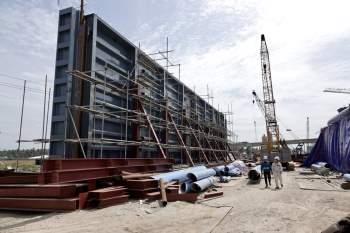 Cận cảnh 'siêu' công trình cống thủy lợi lớn nhất Việt Nam 3.300 tỉ đồng - ảnh 14