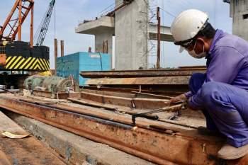Cận cảnh 'siêu' công trình cống thủy lợi lớn nhất Việt Nam 3.300 tỉ đồng - ảnh 10