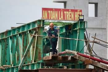 Cận cảnh 'siêu' công trình cống thủy lợi lớn nhất Việt Nam 3.300 tỉ đồng - ảnh 13