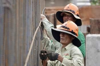 Cận cảnh 'siêu' công trình cống thủy lợi lớn nhất Việt Nam 3.300 tỉ đồng - ảnh 17
