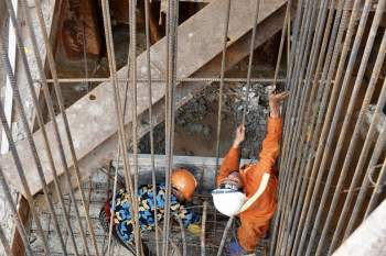 Cận cảnh 'siêu' công trình cống thủy lợi lớn nhất Việt Nam 3.300 tỉ đồng - ảnh 19