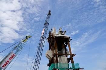 Cận cảnh 'siêu' công trình cống thủy lợi lớn nhất Việt Nam 3.300 tỉ đồng - ảnh 15