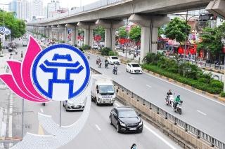 Đường phố Thủ đô rực rỡ cờ hoa chào mừng kỷ niệm 1010 năm Thăng Long - Hà Nội - Ảnh 8.