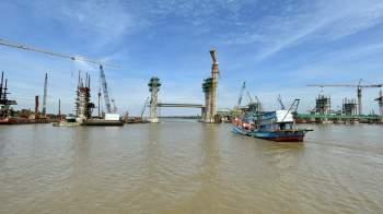 Cận cảnh 'siêu' công trình cống thủy lợi lớn nhất Việt Nam 3.300 tỉ đồng - ảnh 2