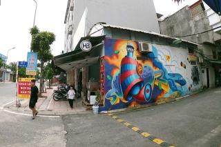 Chùm tác phẩm nghệ thuật Graffiti độc đáo với chủ đề Chung tay đánh bay COVID-19 - Ảnh 3.