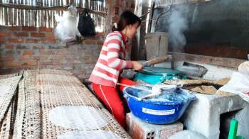 Các làng nghề ở Bình Định tất bật vào vụ Tết1
