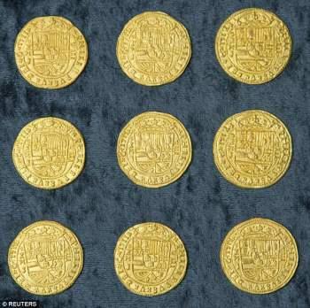 Lóa mắt trước kho vàng tiền tỷ chìm dưới đáy biển - Ảnh 2