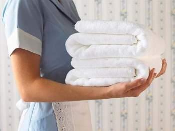 Nên thay mới khăn spa thường xuyên