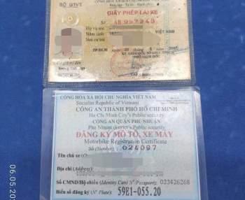 CSGT Tân Sơn Nhất xin lỗi, trả bằng lái cho người tố đại úy không chứng minh được lỗi - ảnh 1