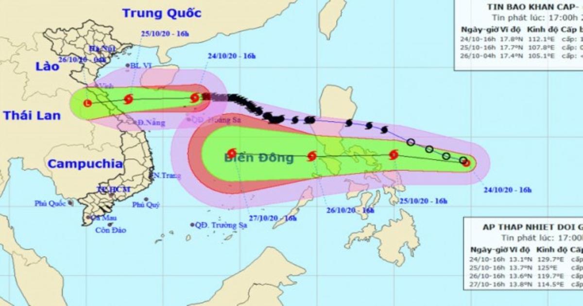 Xuất hiện áp thấp nhiệt đới mới khả năng mạnh thành bão