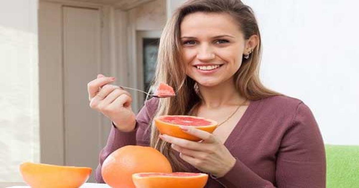 Ăn bưởi buổi sáng giảm cân nhanh hơn cả hút mỡ