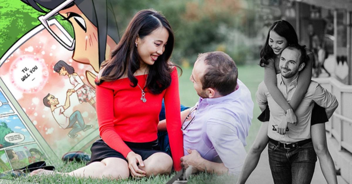 Từ pha cầu hôn một cú lừa đến màn cầu hôn kỳ công tại New York của cặp đôi trai Canada - gái Việt, bố mẹ sốc khi biết có người yêu vì lời tuyên bố quá khứ